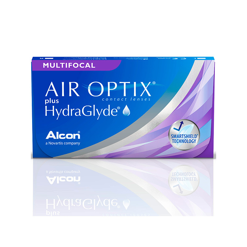 Air Optix® Plus Hydraglyde Multifocal High (boîte de 3)