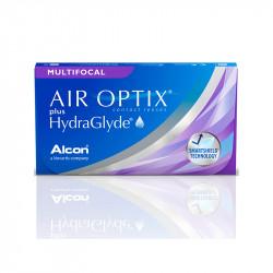 Air Optix® Plus Hydraglyde Multifocal Low (boîte de 3)