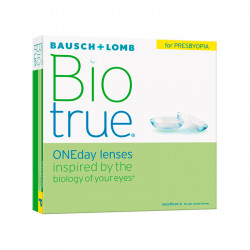 Biotrue® 1-Day for Presbyopia High (boîte de 90)