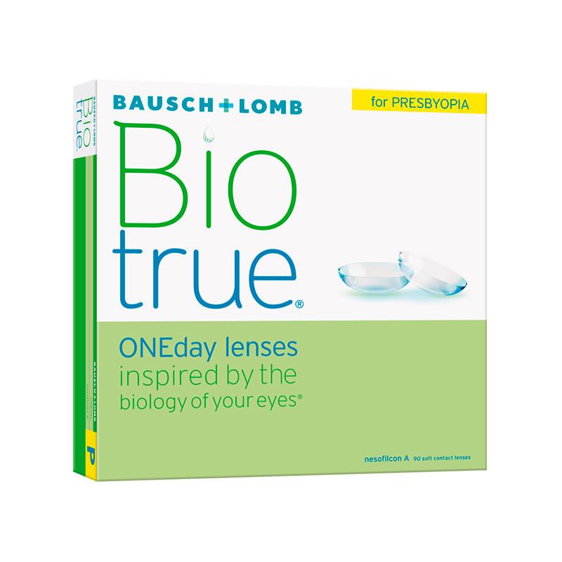 Biotrue® 1-Day for Presbyopia High (boîte de 90)