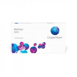 Biofinity® Toric (boîte de 6)
