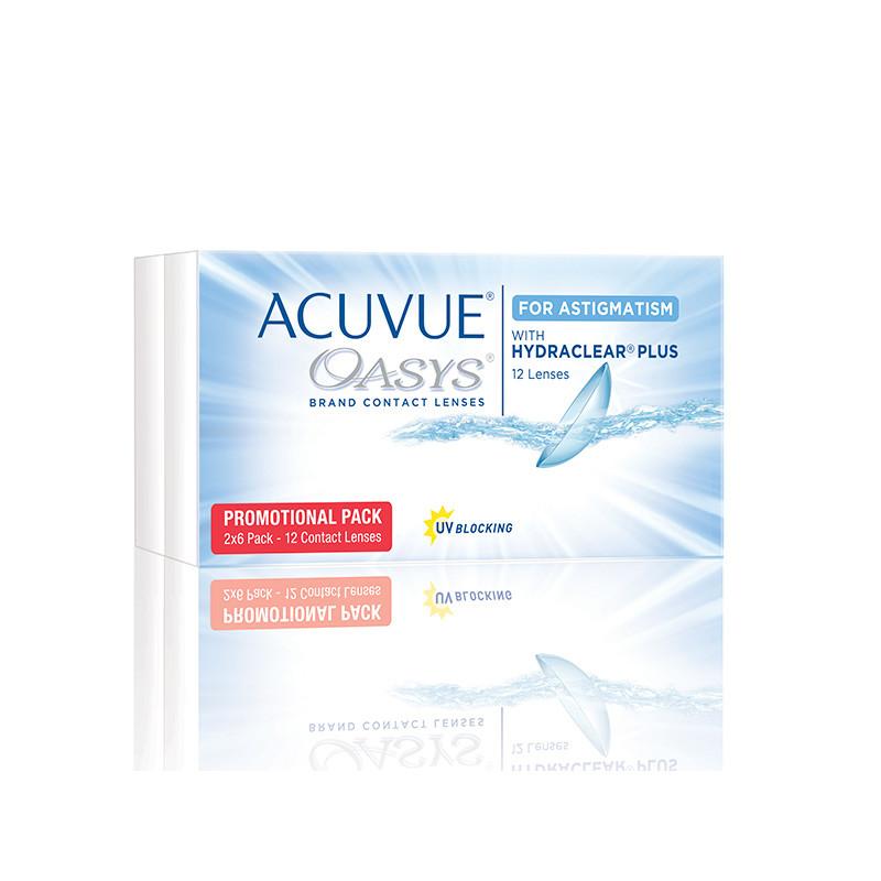 Acuvue® Oasys® for Astigmatism (boîte de 12)