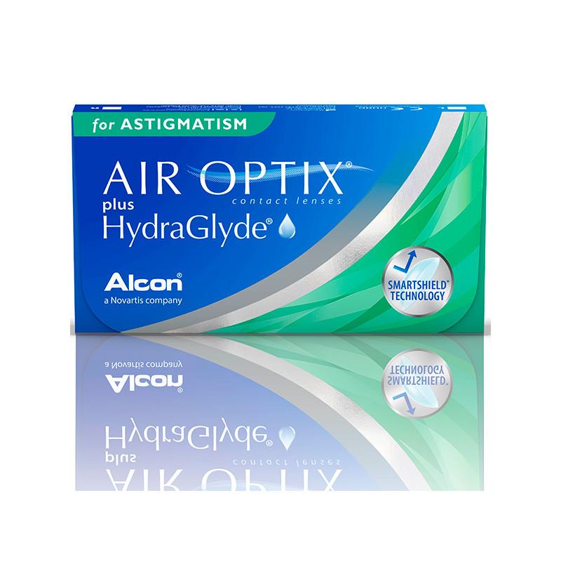Air Optix® Plus Hydraglyde for Astigmastism (boîte de 6)