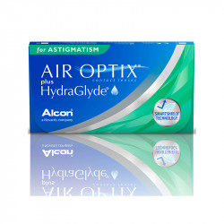 Air Optix® Plus Hydraglyde for Astigmastism (boîte de 3)