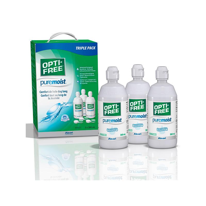 Opti-Free Puremoist Pack 3x300