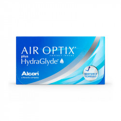 Air Optix® Plus Hydraglyde (boîte de 3)