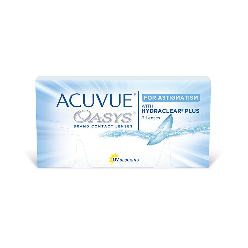 Acuvue® Oasys® for Astigmatism (boîte de 6)