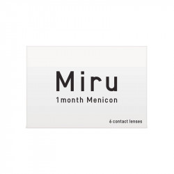 Miru® 1-month (boîte de 6)