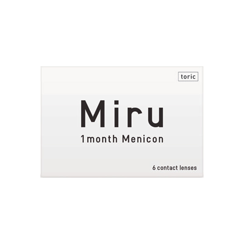 Miru® 1-month For Astigmatism (boîte de 6)