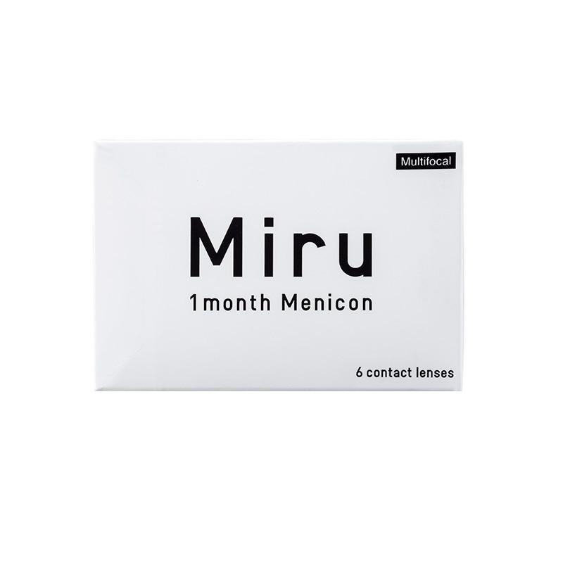 Miru® 1-month Multifocal Low (boîte de 6)