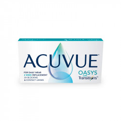 Acuvue® Oasys® with Transitions™ (boîte de 6)