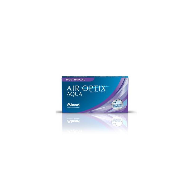 Air Optix® Aqua Multifocal Low (boîte de 3)