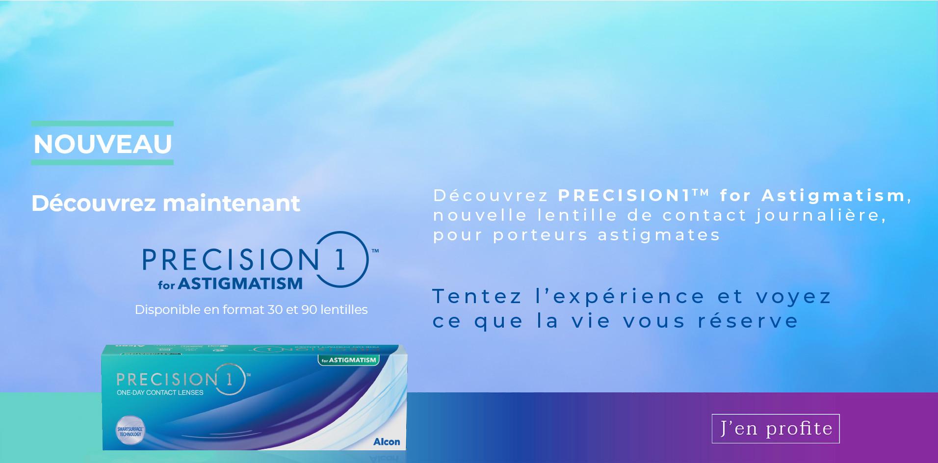 Lancement Precision One Astigmates